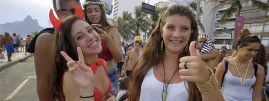 Ipanema, la playa con más marcha del mundo