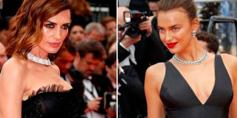 Irina Shayk y Nieves Álvarez, espectaculares en Cannes