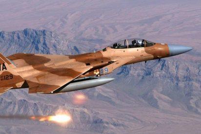 La artillería israelí arrasa con misiles docenas de objetivos iraníes en Siria
