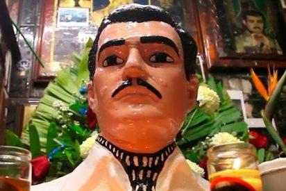 Este es Jesús Malverde, el santo patrón del narcotráfico