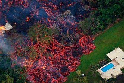 Nuevas fisuras llenas de lava gorgoteando del volcán Kilauea preocupan a las autoridades de Hawái