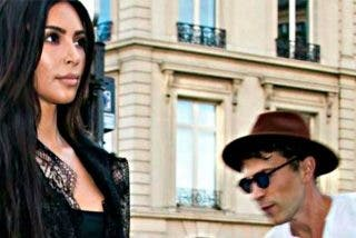 Kim Kardashian atacada por un tipo empeñado en besarle el trasero