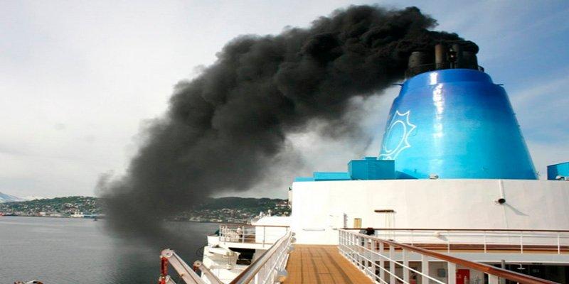 ¿Sabes cuántas emisiones contaminantes aporta el transporte marítimo?