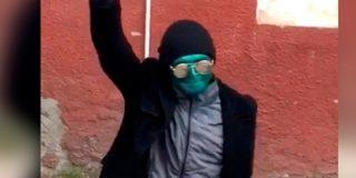 Detienen a 'La Máscara' por asaltar a una mujer