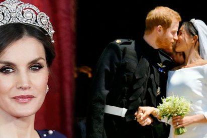 ¿Sabes por qué la Reina Letizia no fué a la boda de Meghan Markle?