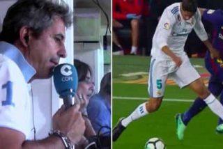 """Manolo Lama perdió los papeles en plena retransmisión y llamó hasta en tres ocasiones """"cagón"""" a Hernández Hernández"""