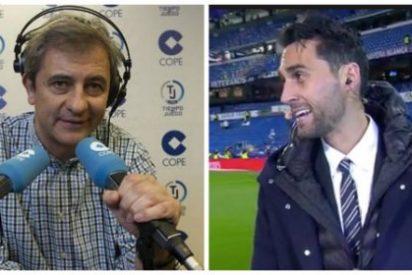 """Manolo Lama y Álvaro Arbeloa 'celebran' la Champions del Madrid a navajazo limpio: """"¡Chivato!"""""""