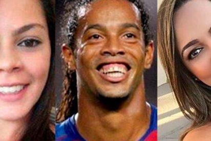 Ronaldinho se casa con dos mujeres a la vez
