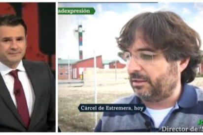 Iñaki López y Jordi Évole incendian laSexta con la visita y masaje al golpista Junqueras en Estremera