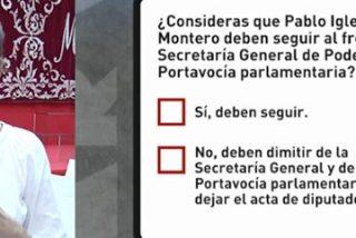 """La podemita marginada de Madrid saca el hacha a pasear contra Iglesias y Montero: """"Solo oigo críticas a mi alrededor"""""""