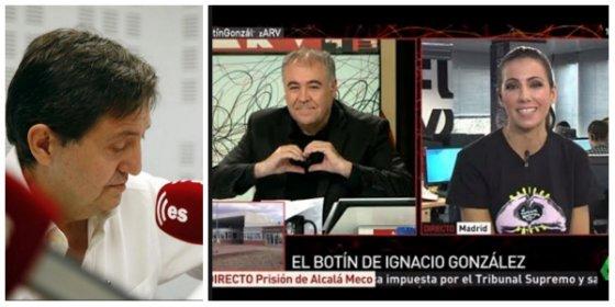 """Losantos acorrala al feminista Ferreras y a su 'cuotille': """"¿Para cuándo un programa sobre las agredidas en Alsasua?"""""""