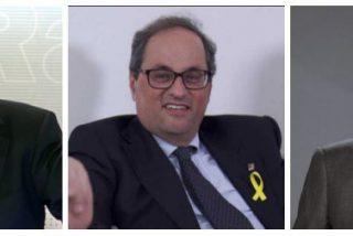 """Losantos hiela la sangre de La Moncloa: """"El psicópata de Torra está ahí gracias al cobarde de Rajoy"""""""