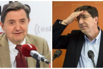 Losantos masacra al líder de Ciudadanos en Andalucía por tapar el escándalo de las 'black card' para puticlubs: