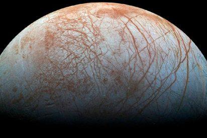 """La NASA: """"Europa, la luna de Júpiter podría tener vida"""""""