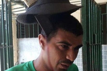 ¡Impresionante!: Este preso brasileño tiene un machete clavado en la cabeza y ni se queja