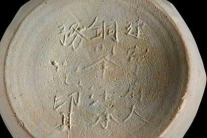 Descubren en un naufragio el primer 'Made in China' de la historia