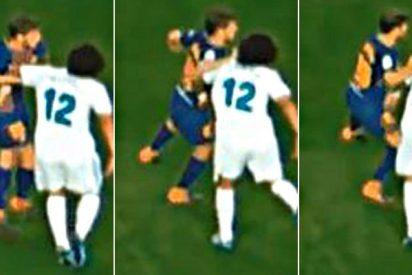 El Comité de Competición castiga Sergi Roberto con cuatro partidos por agredir a Marcelo en el clásico