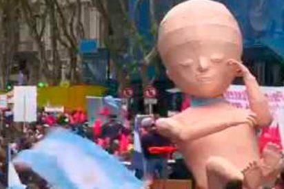 Multitudinaria 'Marcha contra el aborto' en Argentina