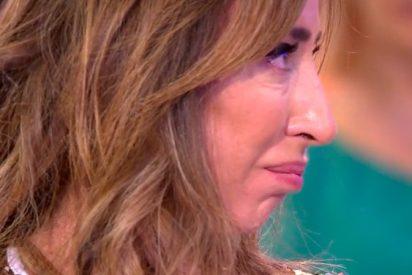 María Patiño abandona 'Sálvame' en un mar de lágrimas