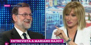 """Mariano Rajoy: """"El mayor adversario que tengo es Podemos"""""""