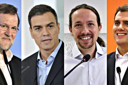 Una encuesta de El País pone todo patas arriba: C's y Podemos superan al PP y al PSOE