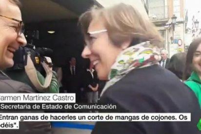 """Martínez Castro vuelve a lucirse irritando a los pensionistas: """"Del Carmen, por favor"""" al """"¡os jodéis!"""""""