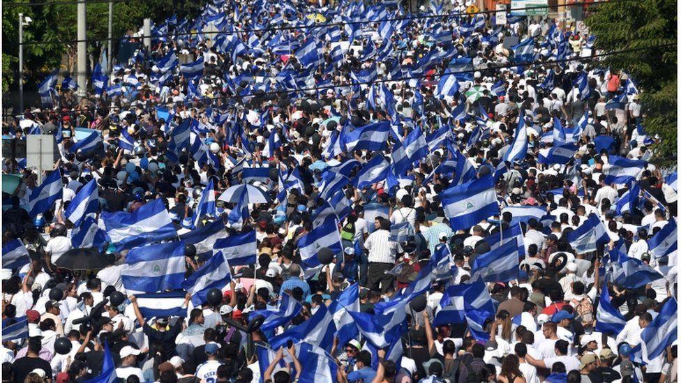 La Iglesia nicaragüense desafía al régimen de Ortega y marcha por la paz, verdad, justicia y libertad