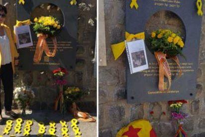 La locura totalitaria vuelve a Mauthausen: los independentistas 'manchan' el campo de concentración con lazos amarillos en su penúltimo esperpento