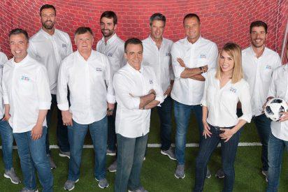 Este es el equipo de Mediaset desplazado para cubrir el Mundial de Rusia