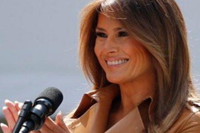 """Melania Trump confiesa que se siente """"estupenda"""" tras su operación de riñón"""