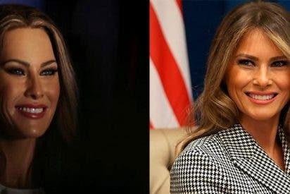 ¿Se parece Melania Trump a su figura de cera?