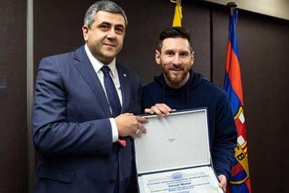 Lionel Messi nombrado Embajador de Turismo Responsable por la OMT