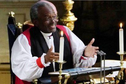 El obispo Curry cautiva en la boda real inglesa con su homilía sobre el amor