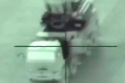 Así fue el momento exacto en el que un misil israelí destruye un sistema antiaéreo sirio Pantsir-C1