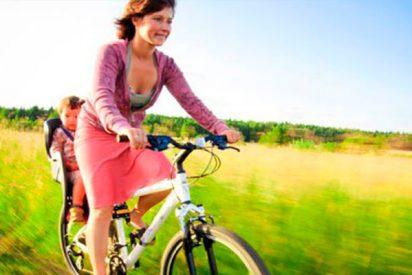 ¿Sabes cómo puedes montar en bicicleta sin dañar el suelo pélvico?