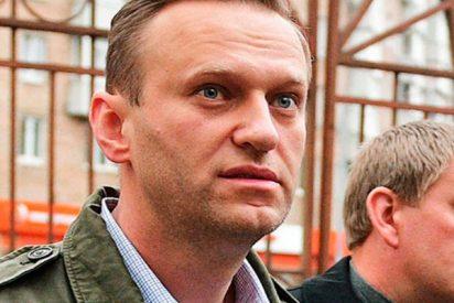 Así detienen al opositor Navalny durante una manifestación no autorizada en el centro de Moscú