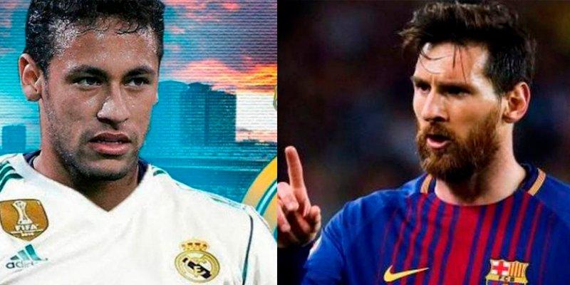 Messi se 'caga por la pata' al imaginar a Neymar en el Real Madrid