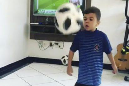 Este niño quiere ser el próximo Neymar a pesar de su enfermedad incurable