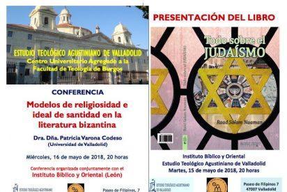 Bizancio y el Judaísmo, a debate en el Estudio Teológico Agustiniano de Valladolid