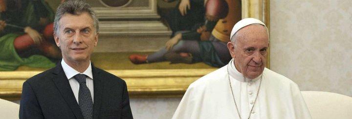 """El Papa le pide a Macri """"una sociedad cada vez más justa, fraterna y solidaria"""""""