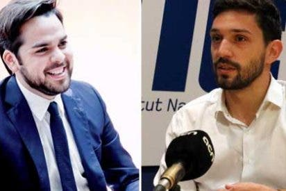 Fernando de Páramo se troncha cuando el independentista Sergi Miquel acusa a Ciudadanos de practicar un nacionalismo excluyente