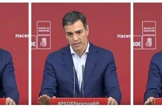 Pedro Sánchez tira por el desagüe su escasa credibilidad y sentido de Estado en un mortal vídeo de 30 segundos