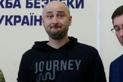 El periodista ruso 'asesinado' en Kiev está vivo