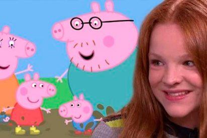 Harley Bird, la niña que pone voz a 'Peppa Pig' en la serie, cobra 1.100 euros la hora
