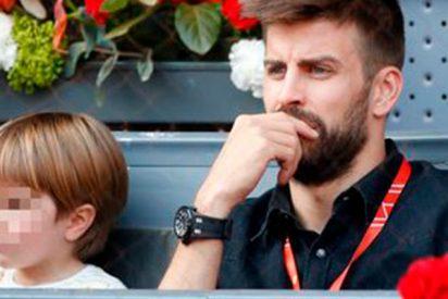 Piqué, todo un padrazo, se lleva a su hijo pequeño a disfrutar del tenis