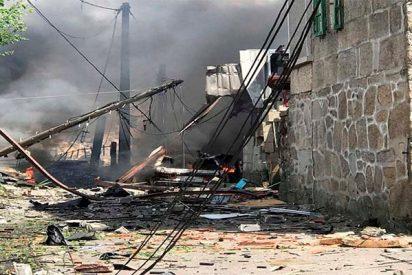 Una mujer muerta, cuatro desaparecidos y 30 heridos al explosionar una fábrica clandestina de pirotecnia en Tui