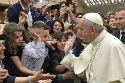 """El Papa pide a las familias """"coraje, mansedumbre y ternura"""""""
