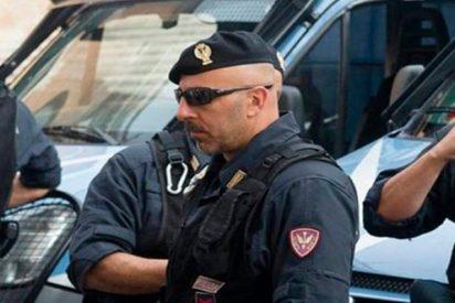 Así detiene la policía Italia a 14 terroristas en una redada sin precedentes