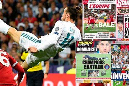 La prensa mundial se rinde a los pies del 'eterno' Real Madrid