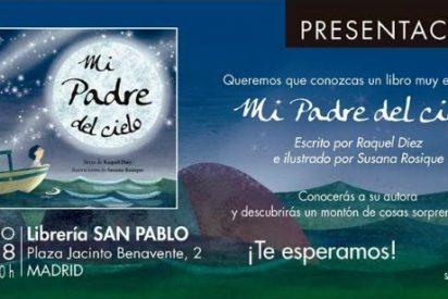 Raquel Díez presenta en Madrid su libro 'Mi Padre del cielo' (San Pablo)